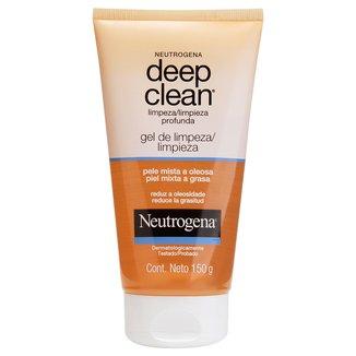 Neutrogena Gel de Limpeza Profunda Deep Clean 150g