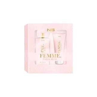 NG Parfums Lodeur du Femme Kit - EDP 80ml + Shower Gel 100ml Kit