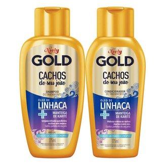 Niely Gold Cachos do seu Jeito Kit - Shampoo + Condicionador Kit