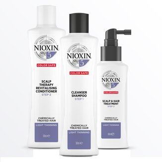 Nioxin Loyalty Kit Sistema 5 - Shampoo + Condicionador + Leave-in Kit