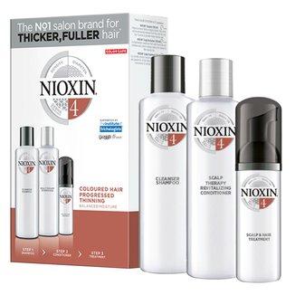 Nioxin Trial Kit Sistema 4 - Shampoo + Condicionador + Leave-in Kit