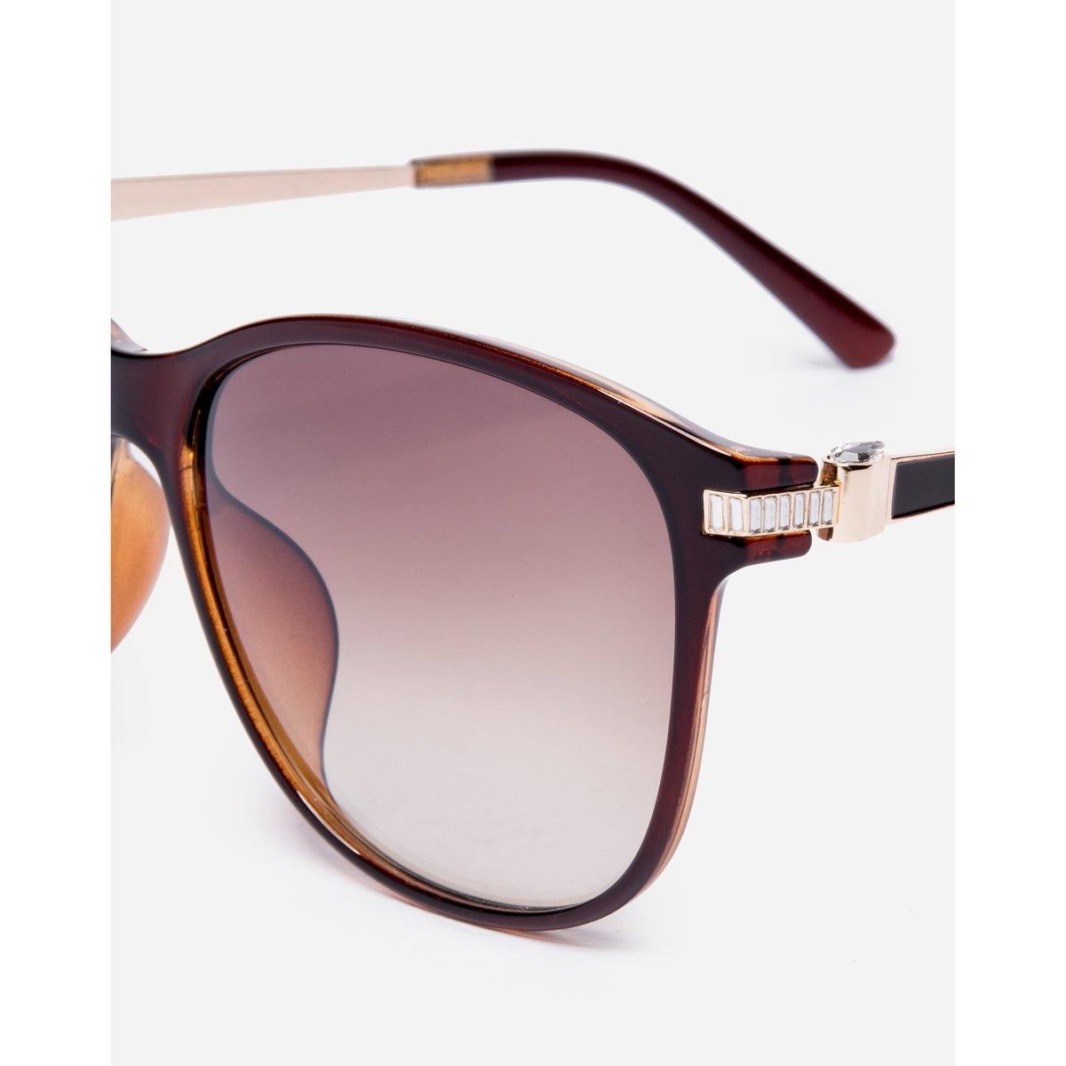 óculos Amaro De Sol D-frame Tortoise - Compre Agora   Zattini 4a52b0aba2