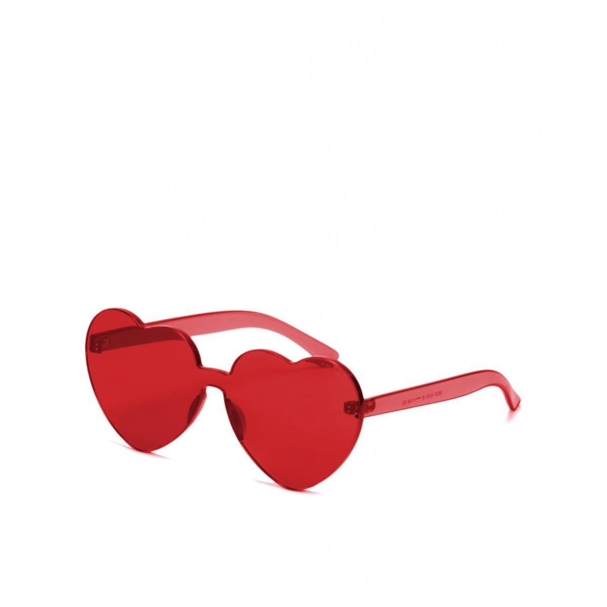 Óculos Amaro De Sol Heart Feminino - Vermelho - Compre Agora   Zattini 31537b4fa9