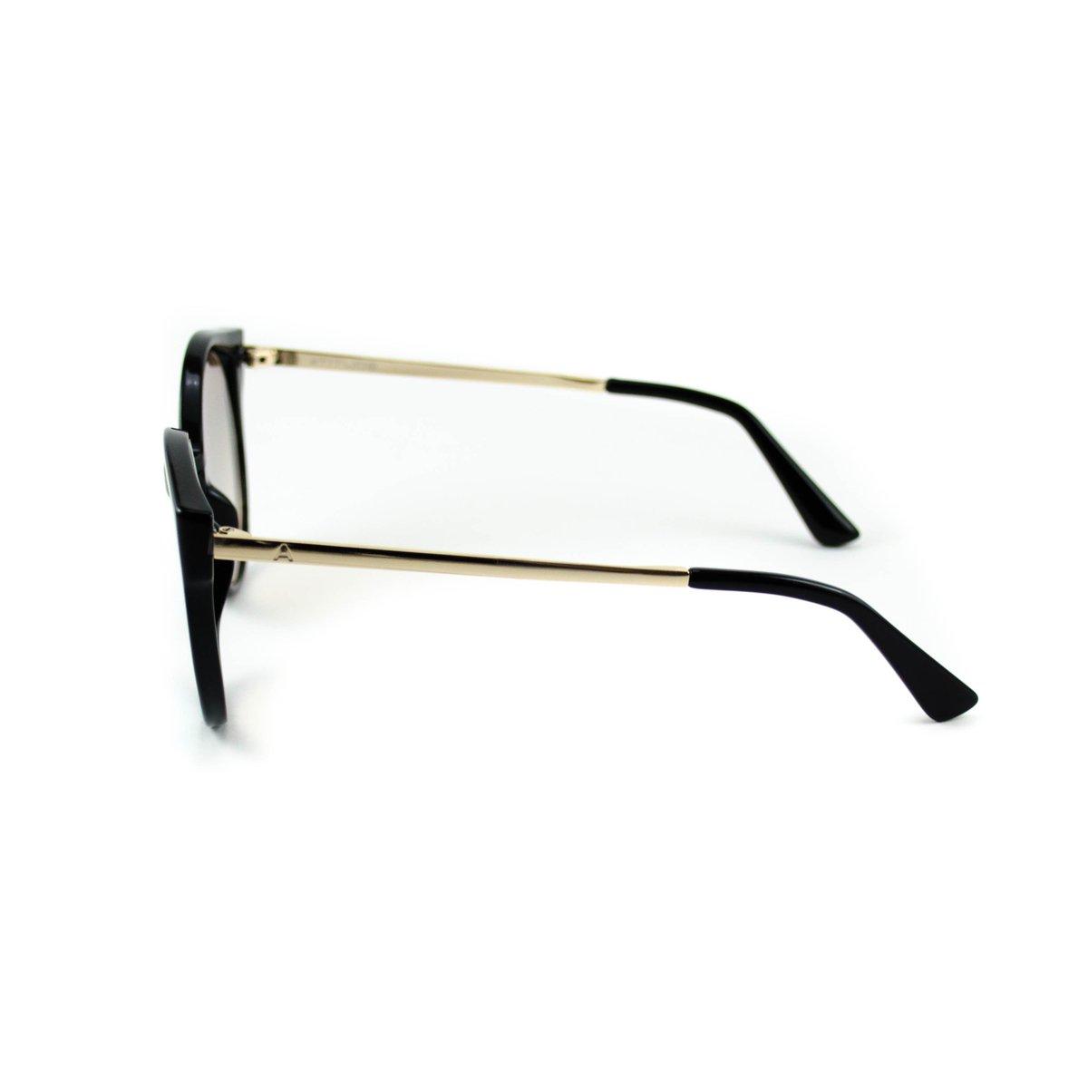 Óculos Atitude - AT5374 T01 - Preto e Dourado