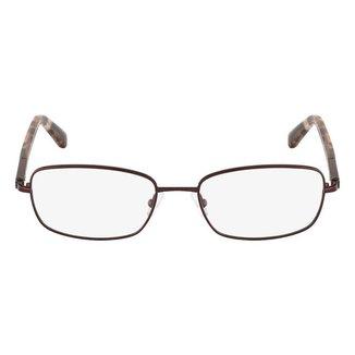 Óculos de Grau Calvin Klein CK7393 611/52 - Vermelho
