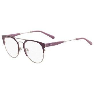 Óculos de Grau Calvin Klein Jeans CKJ18103 502/51 - Roxo