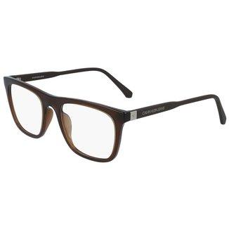 Óculos de Grau Calvin Klein Jeans CKJ19524 201/53 - Marrom