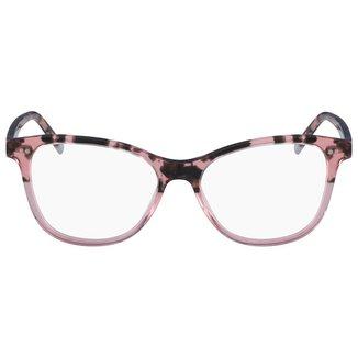 Óculos de Grau Calvin Klein Tartaruga Feminino