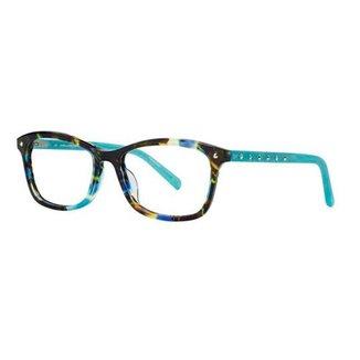 Óculos de Grau Diane Von Furstenberg DVF5073 423/52 Azul