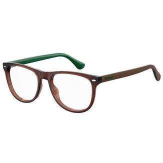 Óculos de Grau Havaianas Macae/V -  52 - Marrom