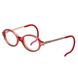 Óculos de Grau Lilica Ripilica VLR094 C02/41 Vermelho