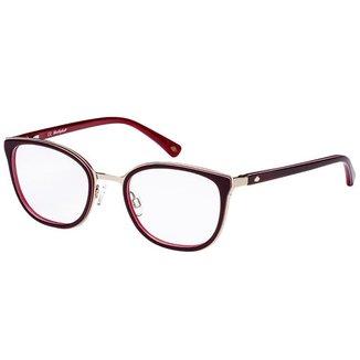 Óculos de Grau Lilica Ripilica VLR116C04/48 Vinho/Dourado