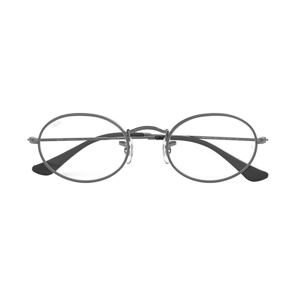 Óculos de Grau Ray-Ban Oval Masculino . 8f2fae07af