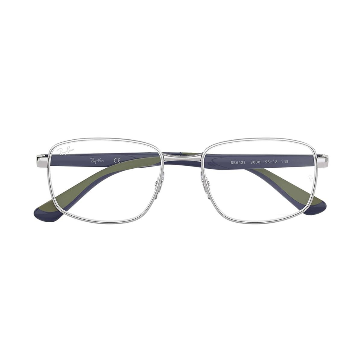 9c32f97e6abd2 Óculos de Grau Ray-Ban RB6423 Masculino - Azul - Compre Agora   Zattini