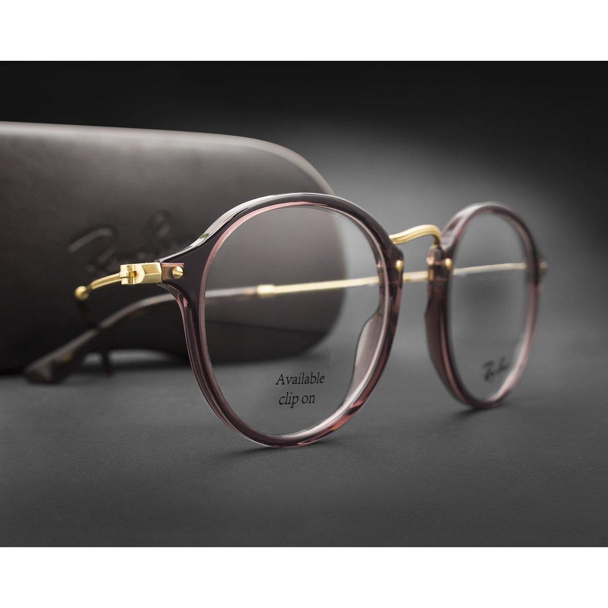 Óculos de Grau Ray Ban Round Fleck RX2447V 8032-49 - Compre Agora ... c4e33fe8ff