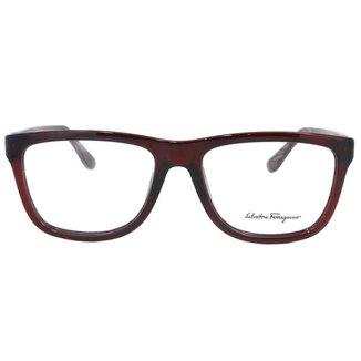 Óculos de Grau Salvatore Ferragamo SF2694 604/54 Bordô