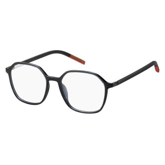 Óculos de Grau Tommy Hilfiger Jeans TJ 0010 -  51 - Cinza - Cinza