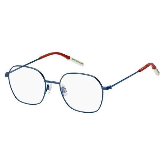 Óculos de Grau Tommy Hilfiger Jeans TJ 0014 -  50 - Azul - Azul