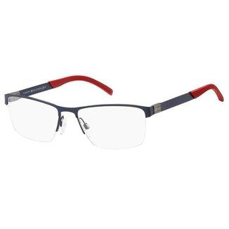 Óculos de Grau Tommy Hilfiger TH 1781 -  58 - Azul