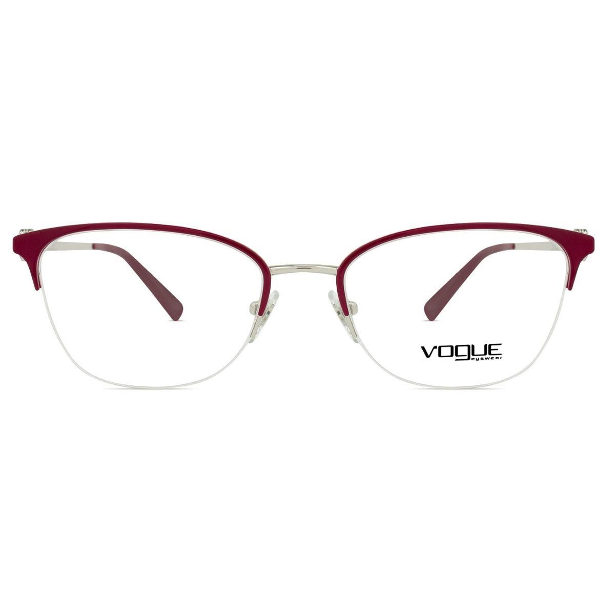 10617fe5c Óculos de Grau Vogue Circles VO Feminino - Vinho   Zattini