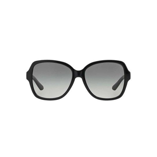 Óculos de Sol Armani Exchange Borboleta AX4029S Feminino - Preto