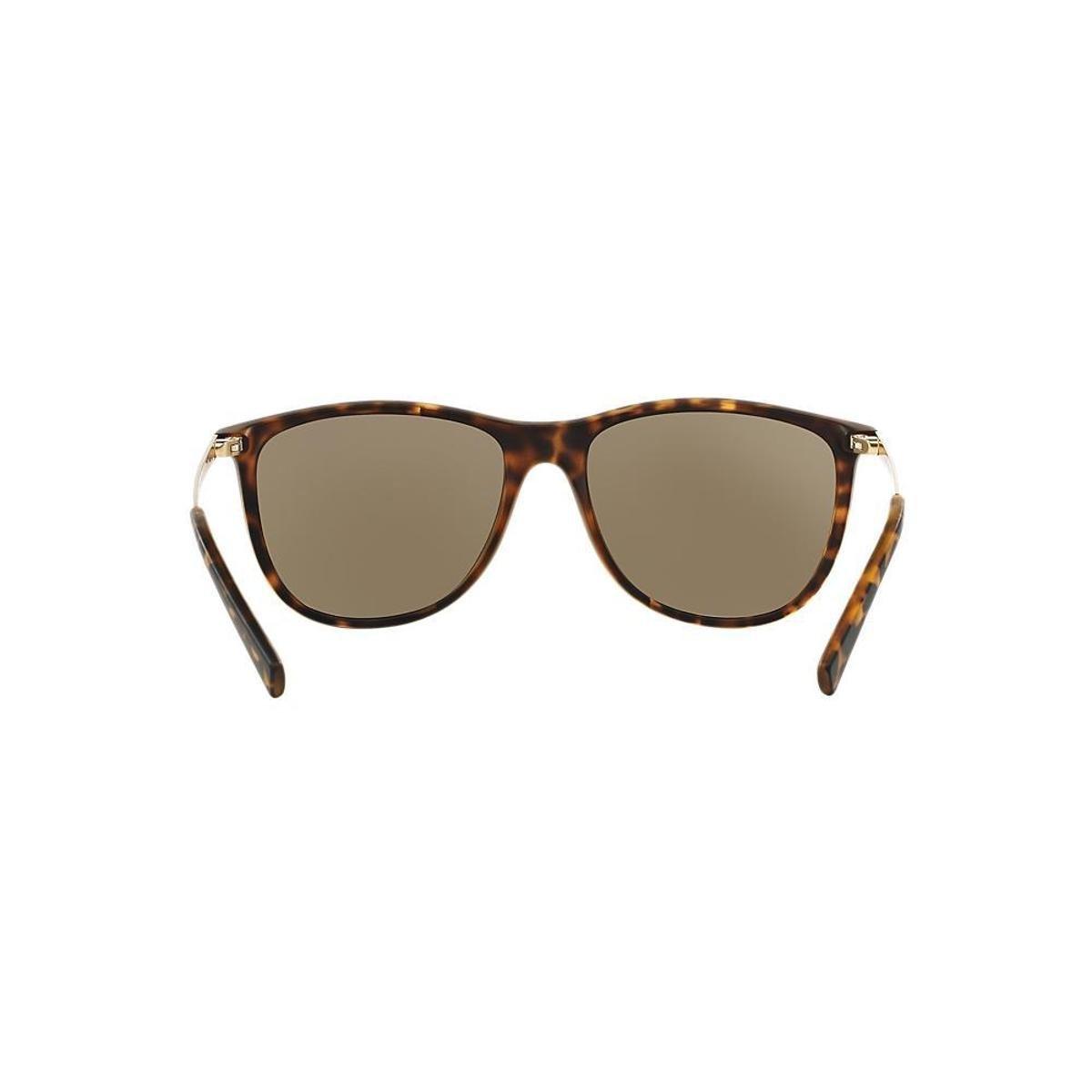 e9f73b13be1 Óculos de Sol Armani Exchange Quadrado AX4047SL Masculino - Marrom ...