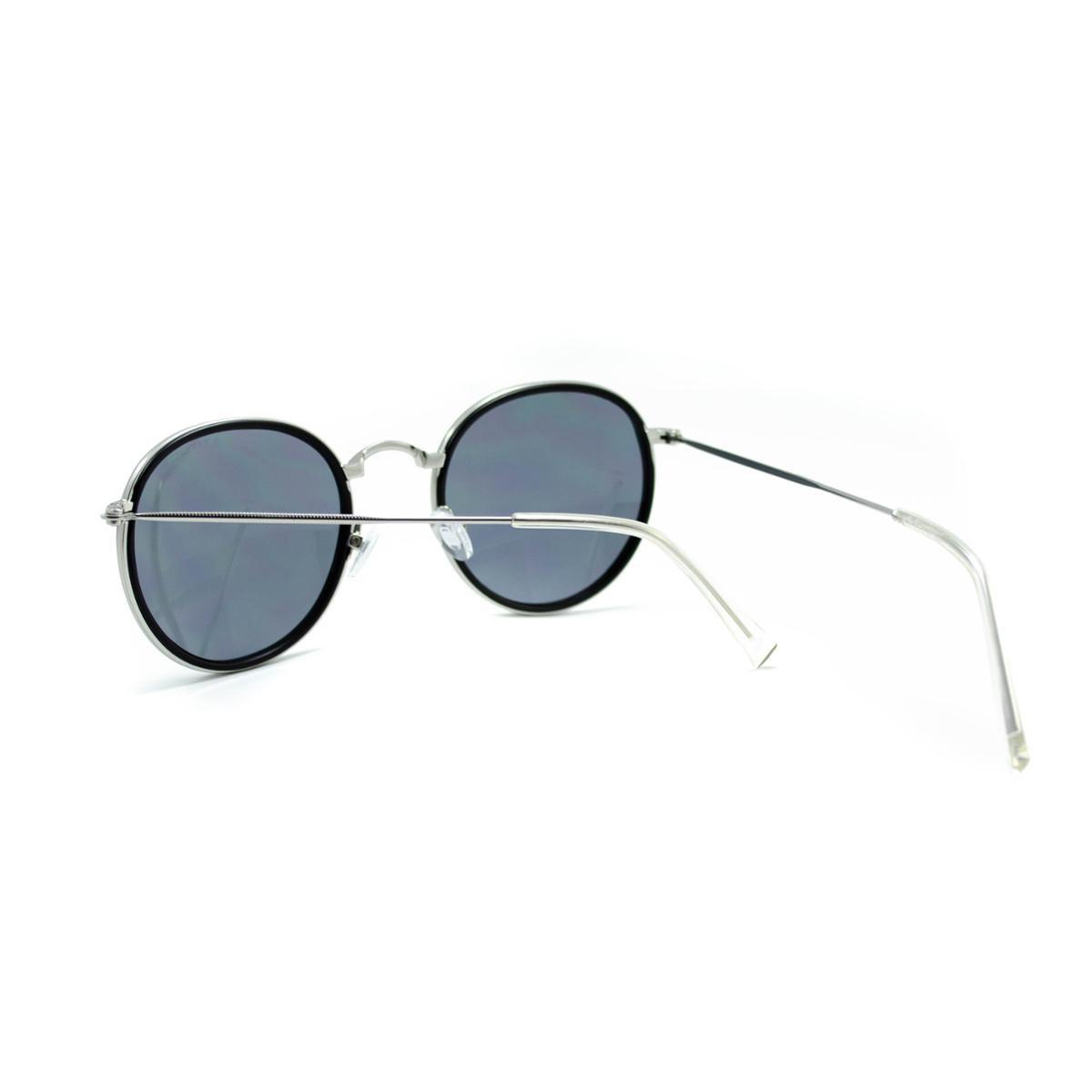 1da7f1c177234 Óculos de Sol Atitude - AT3192 04B - Preto e Prata - Compre Agora ...