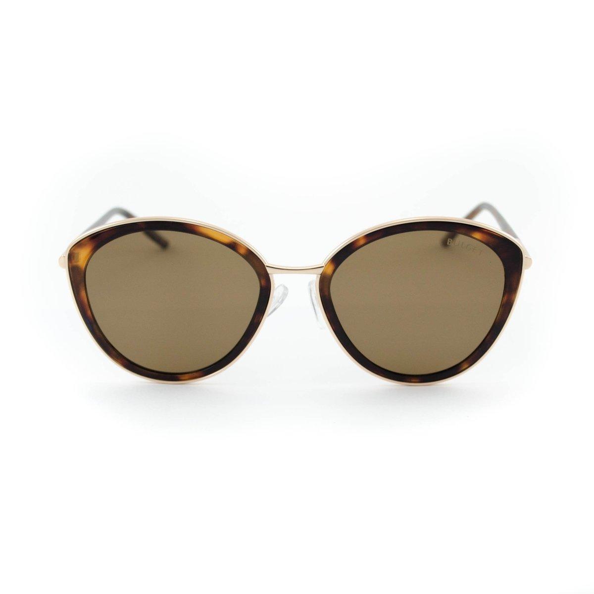 Óculos de Sol Bulget - Dourado e Marrom - Compre Agora   Zattini e0c5e1f1b8