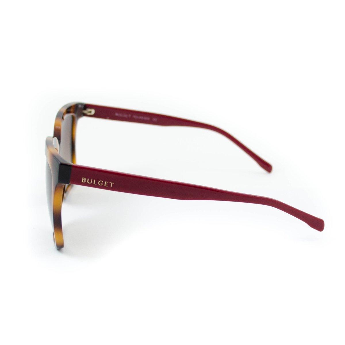 Óculos de Sol Bulget - Marrom e Vermelho - Compre Agora   Zattini 39b4f03f59