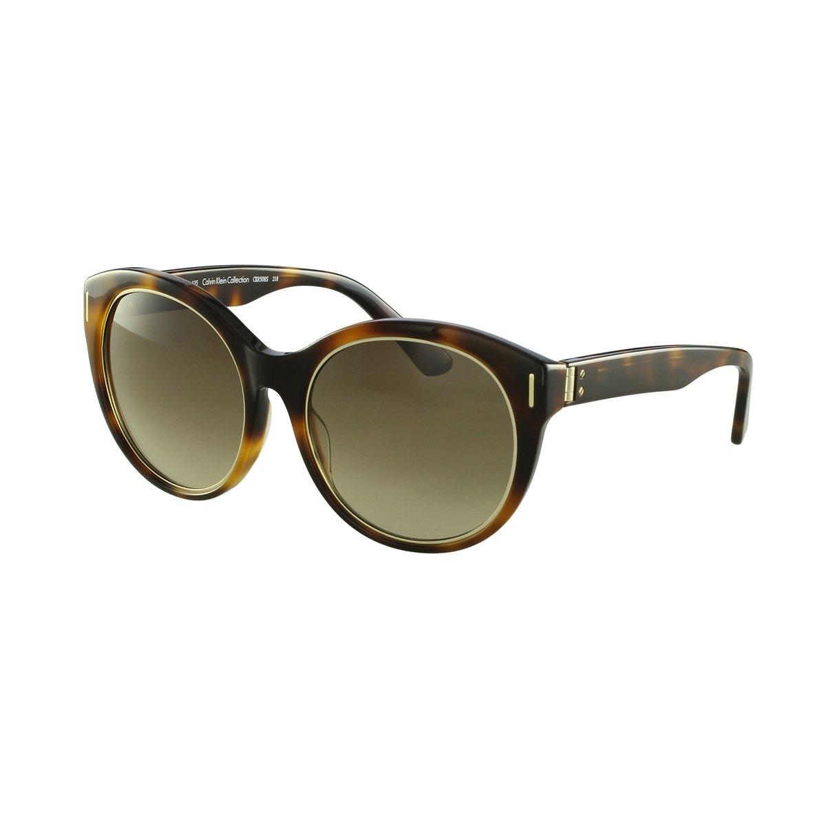 73b2552f3b3cb Óculos de Sol Calvin Klein Fashion Marrom - Marrom - Compre Agora ...