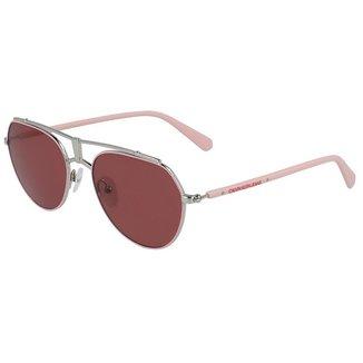 Óculos de Sol Calvin Klein Jeans CKJ19304S 670/54 - Vermelho