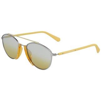 Óculos de Sol Calvin Klein Jeans CKJ19306S 701/53 - Amarelo