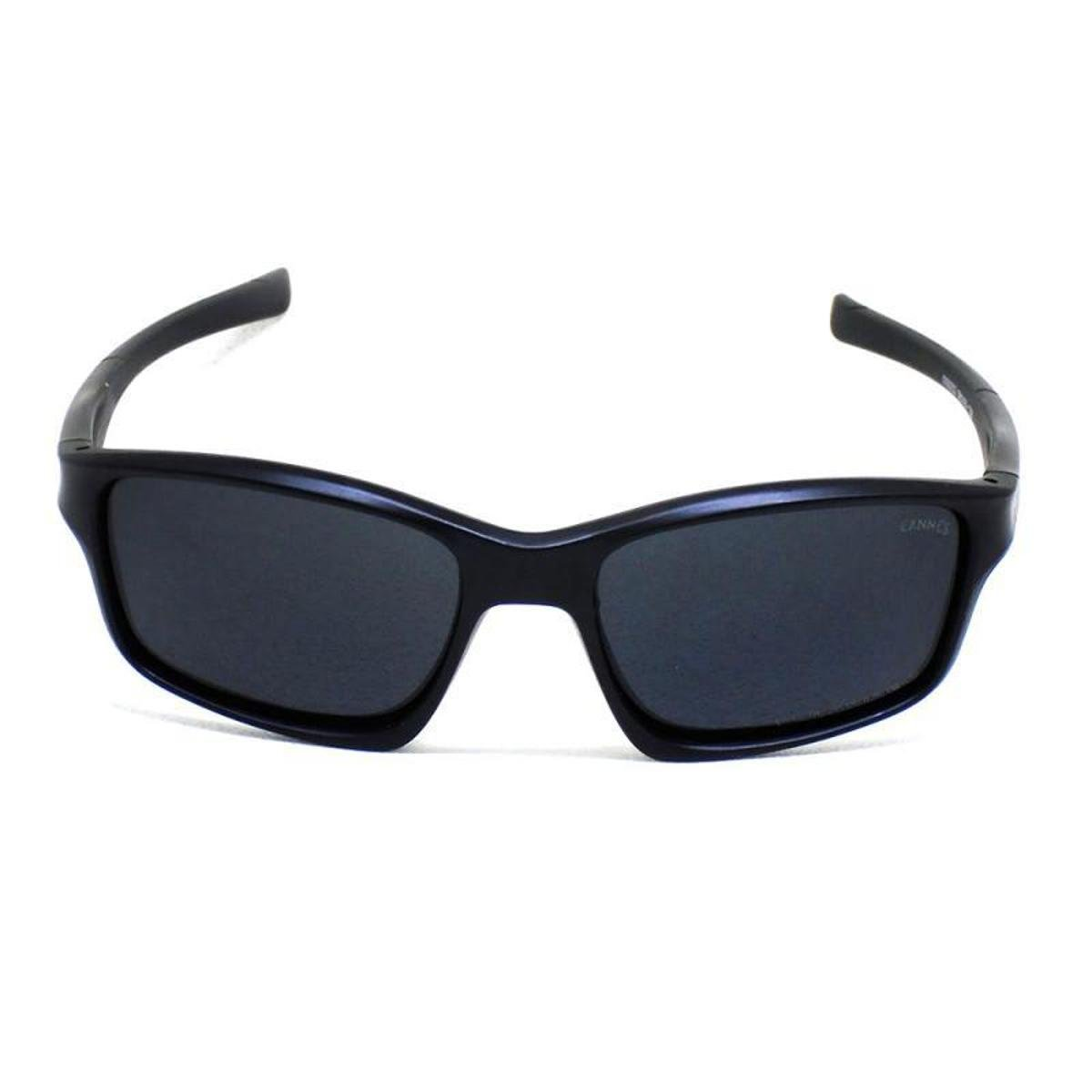 7c7fd3166aaac Óculos De Sol Cannes 009252 T 56 C Casual Masculino - Preto - Compre ...