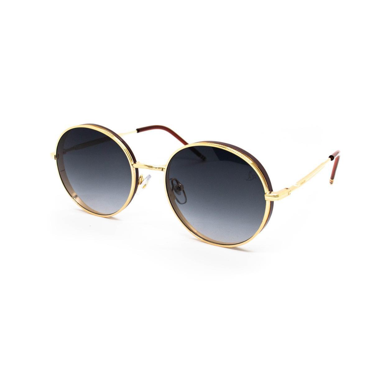 Óculos de Sol Carmen Vitti - CV7021 C3 - Dourado
