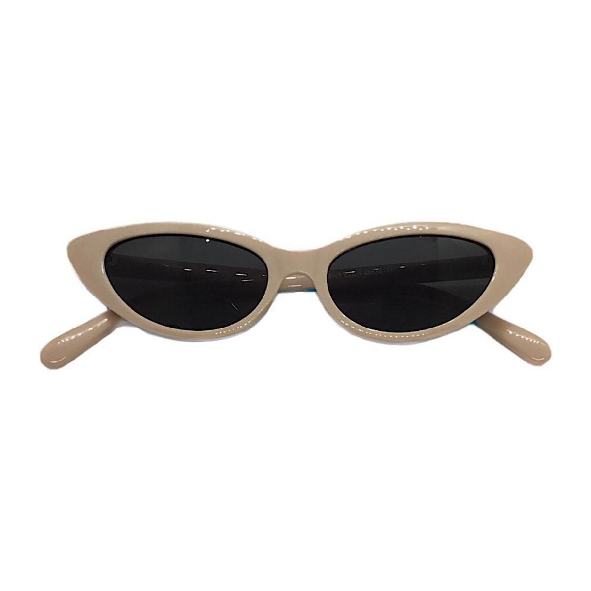 Óculos De Sol Charlotte Gatinho Mulher Feminino - Nude