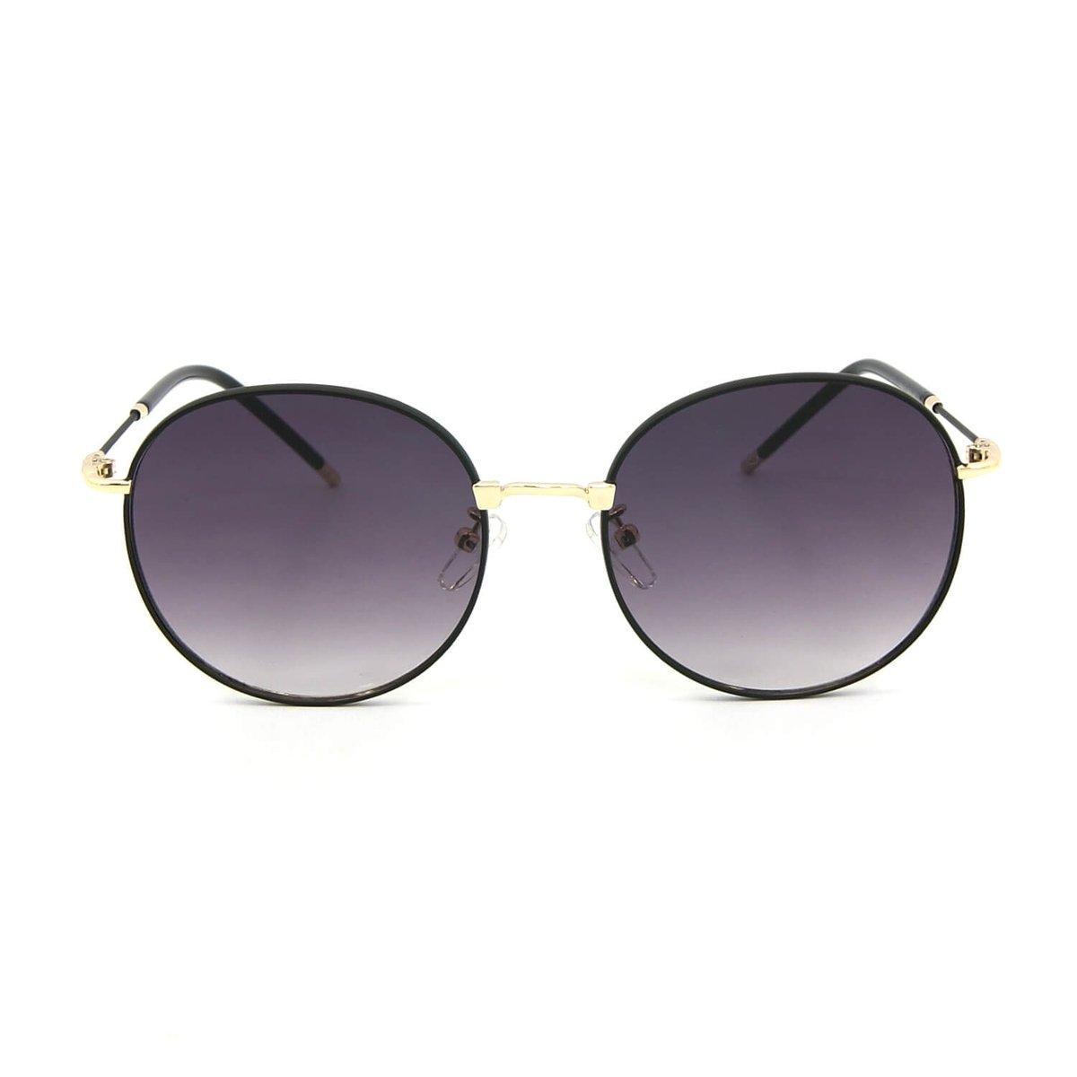 Óculos de Sol Classic Redondo - Preto - Compre Agora   Zattini bd32c889e8