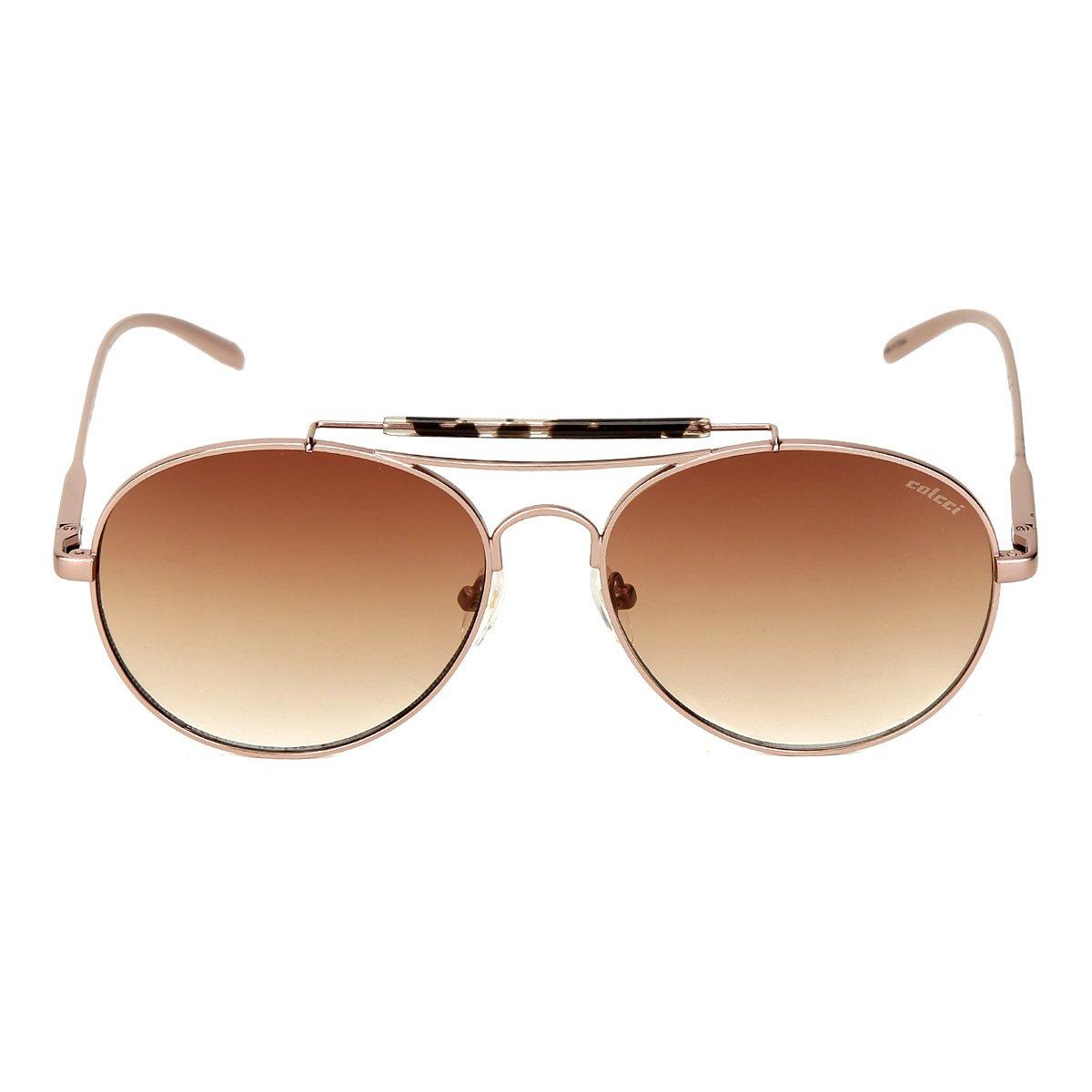 Óculos De Sol Colcci Aviador Brilho Degrade Feminino - Compre Agora ... 595735538e