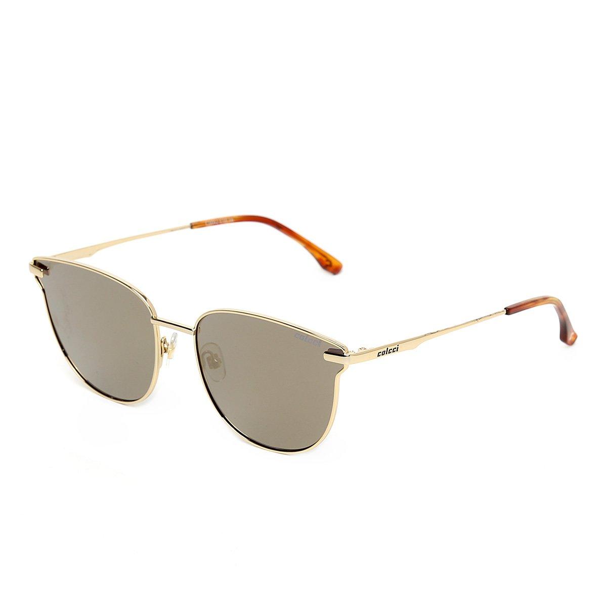 Óculos de Sol Colcci C0092 Feminino - Dourado - Compre Agora   Zattini d5d84adbc7