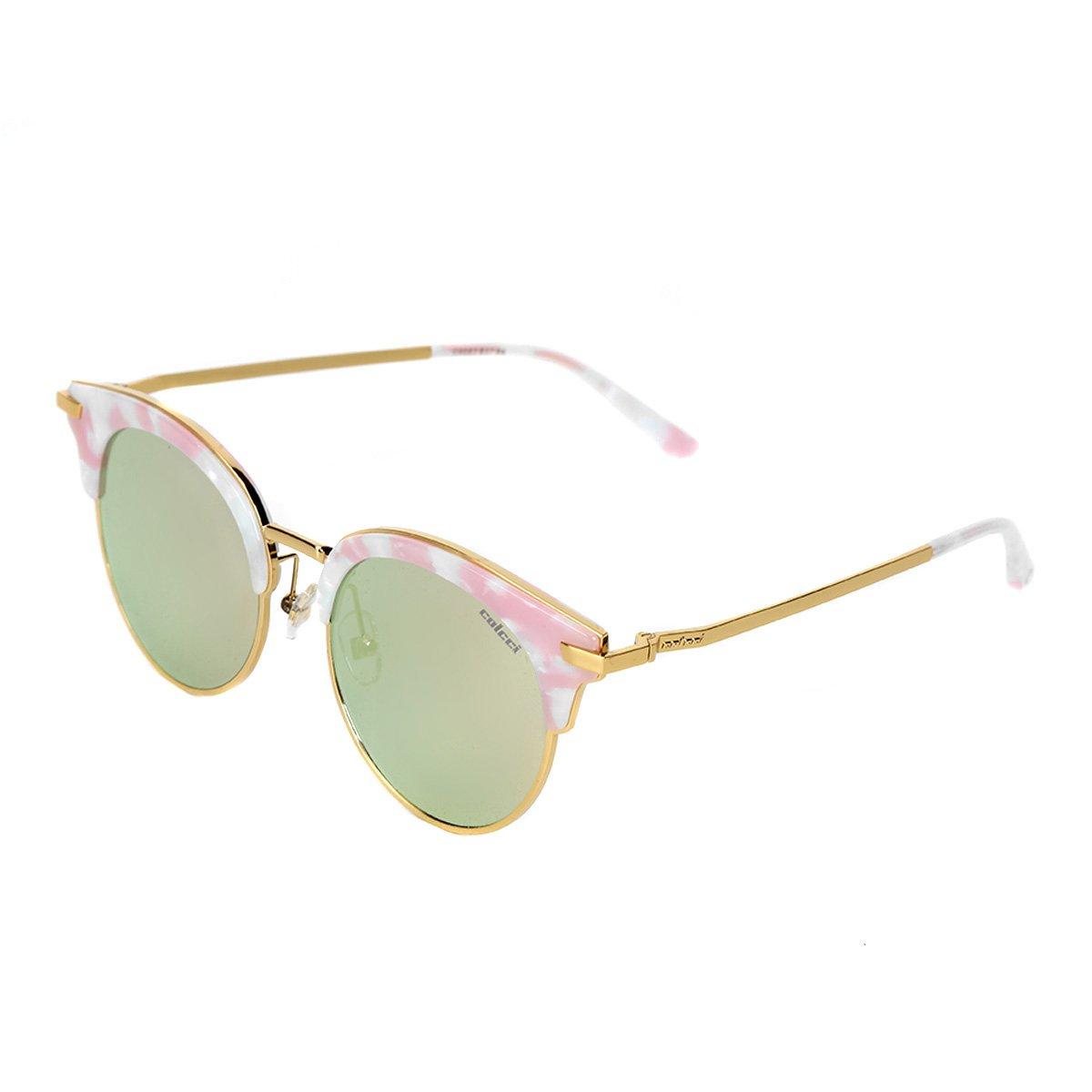 4252d802f Óculos de Sol Colcci Gatinho Brilho Feminino - Nude | Zattini