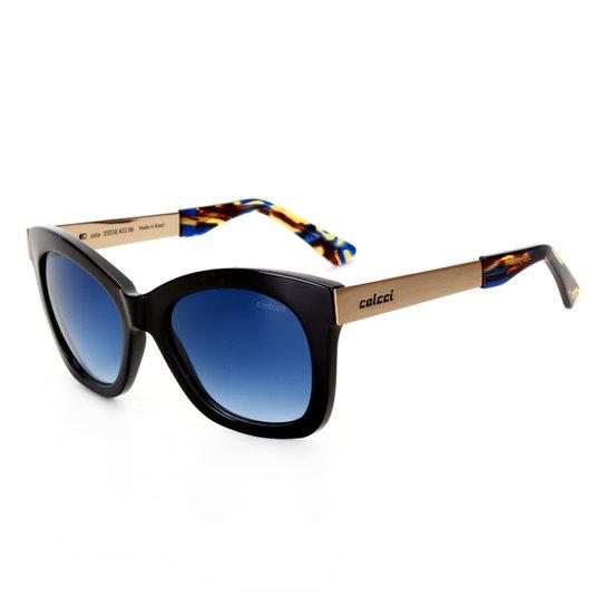 Óculos De Sol Colcci Quadrado 05038A0286 Feminino - Preto