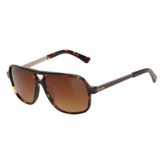 Óculos de Sol Colcci Tartaruga Feminino - Marrom