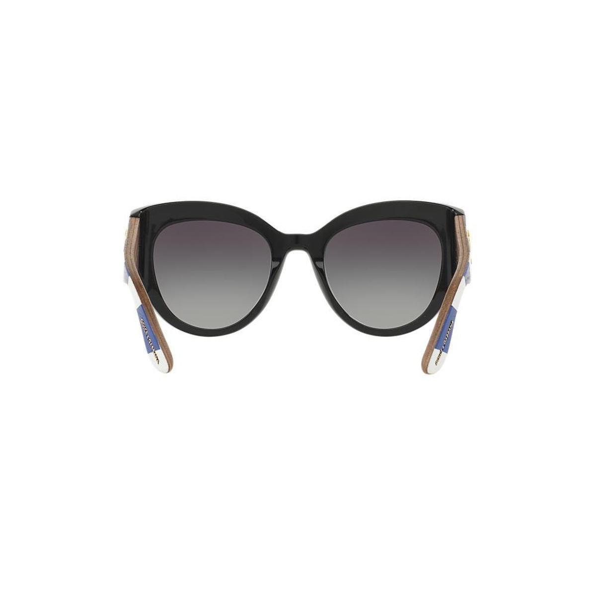 Óculos de Sol Dolce   Gabbana Gatinho DG4278 Feminino - Preto ... 0130fe30b7