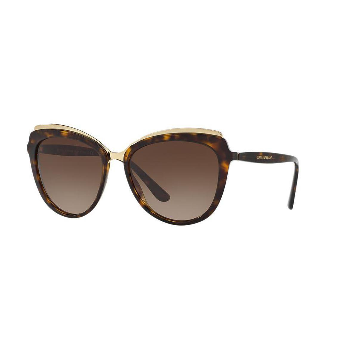 efb5bda76d7f2 Óculos de Sol Dolce   Gabbana Gatinho DG4304 Feminino - Compre Agora ...