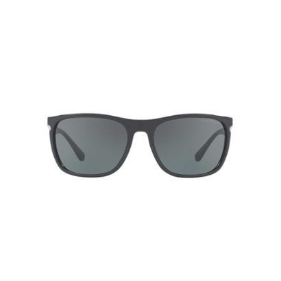 564e992cdc7c1 Óculos de Sol Emporio Armani Retangular EA4107 Masculino - Preto - Compre  Agora