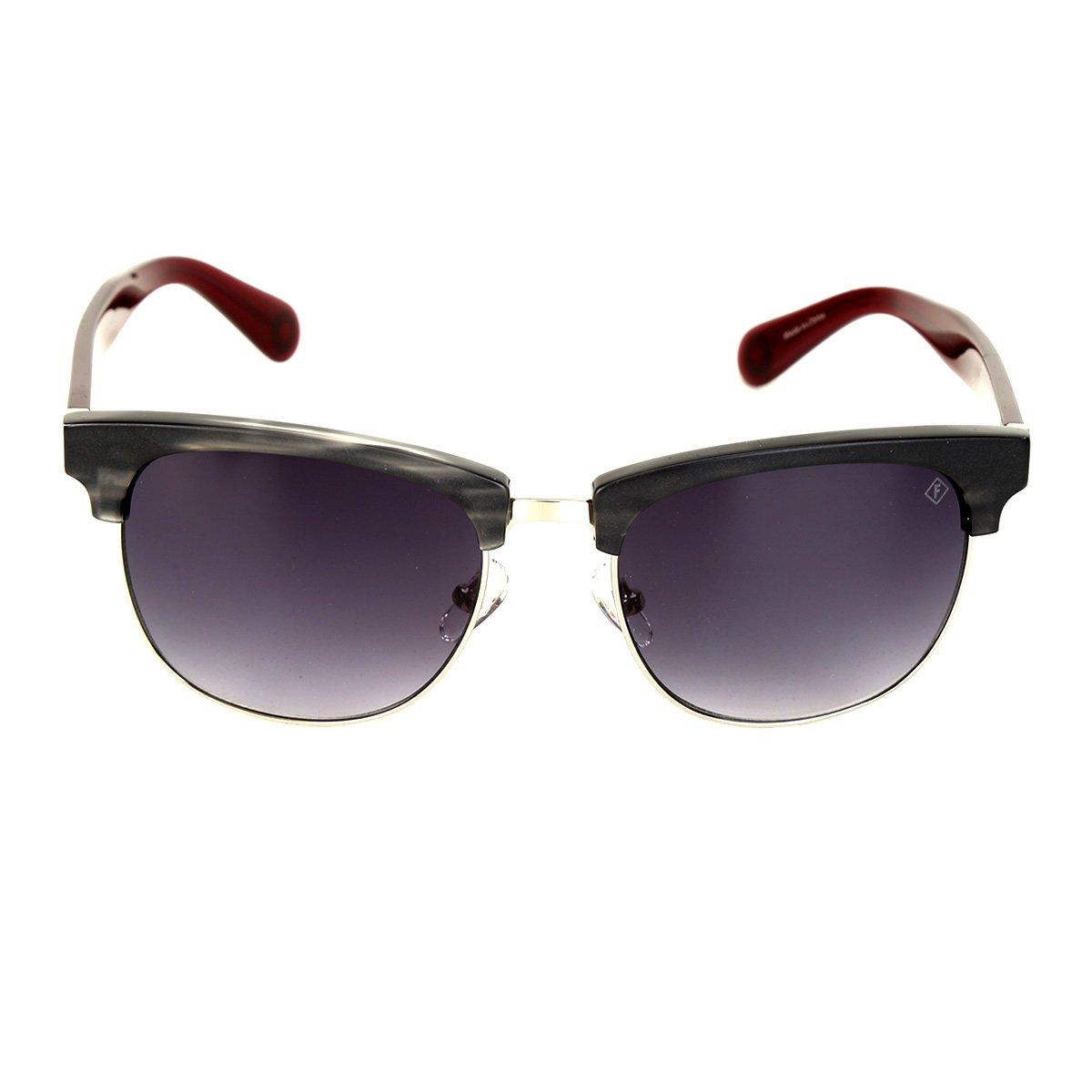 Óculos de Sol Forum Degradê Feminino - Vermelho - Compre Agora   Zattini 26637eee1e
