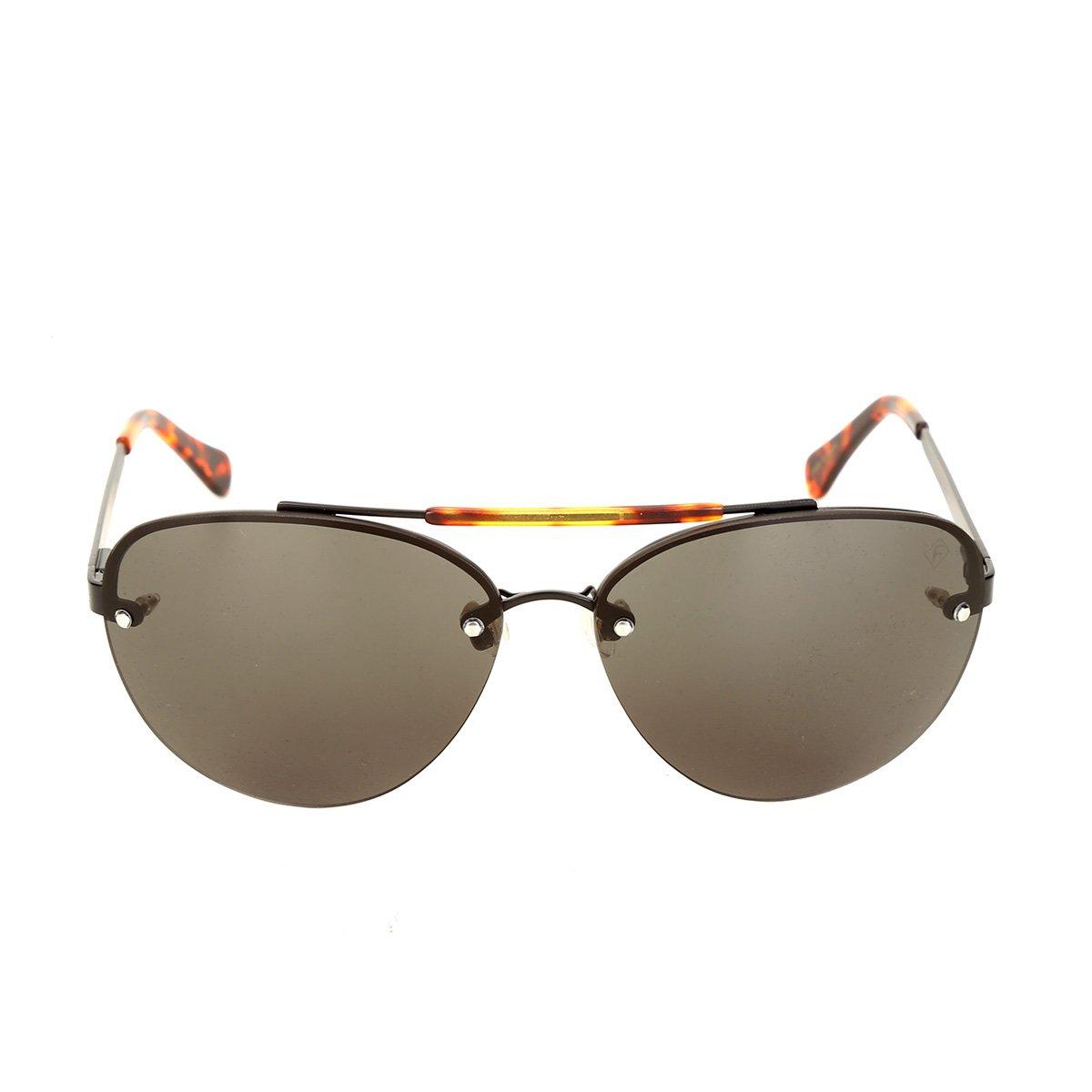 Óculos de Sol Forum Tartaruga Masculino - Preto - Compre Agora   Zattini 4542ad751d