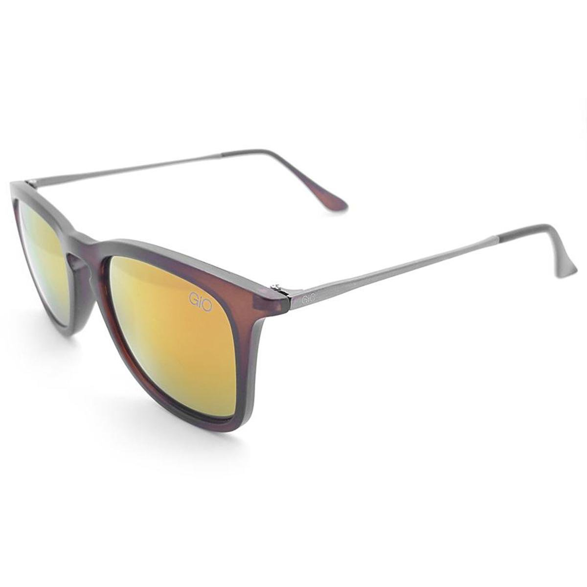 ... Óculos de Sol Gio Antonelli Fosco Lente Laranja Espelhada Feminino ... c2573f51e4