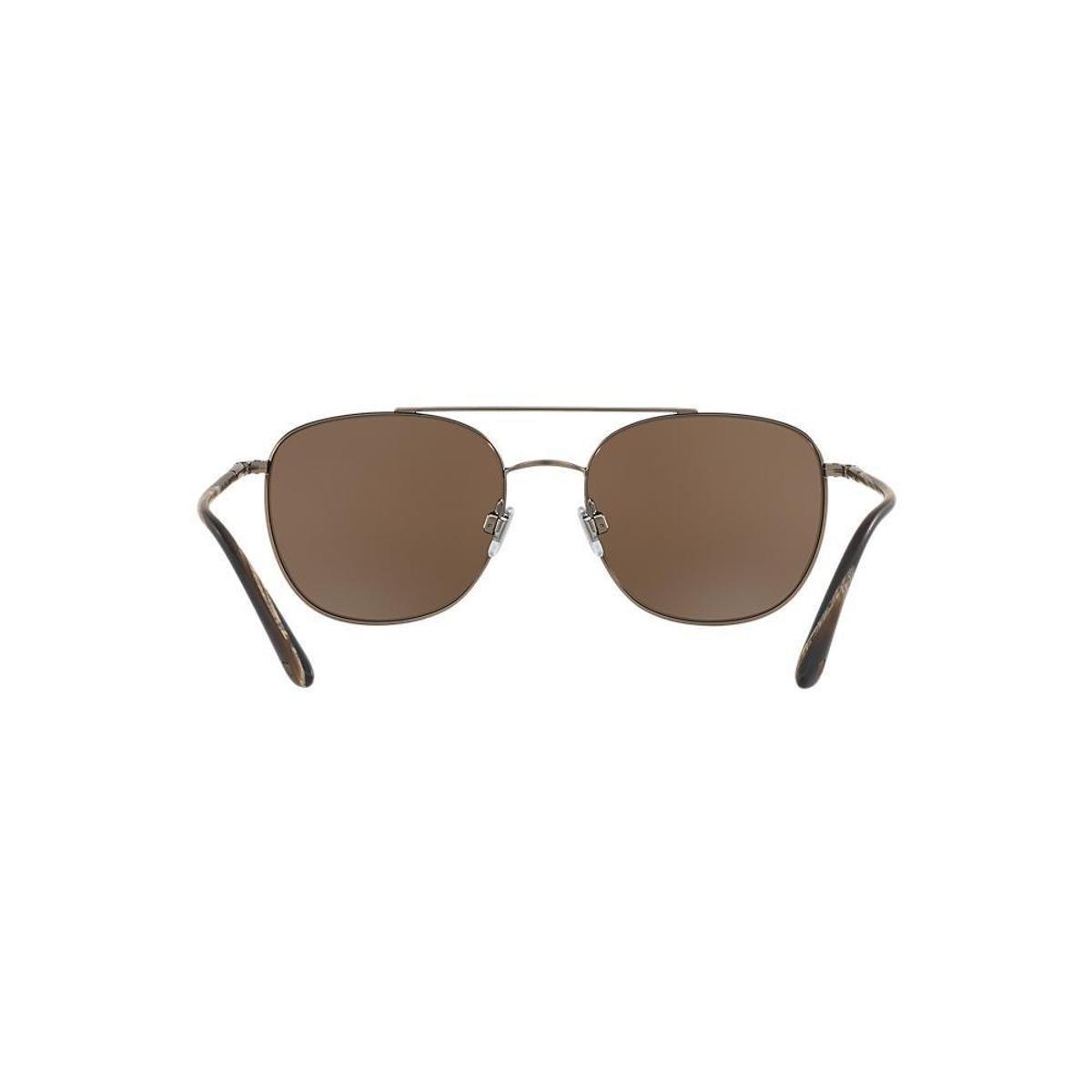 d9f7b05de7e29 Óculos de Sol Giorgio Armani Quadrado AR6042 Masculino - Marrom ...
