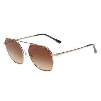 Óculos de Sol Grazi Geométrico Degradê Feminino