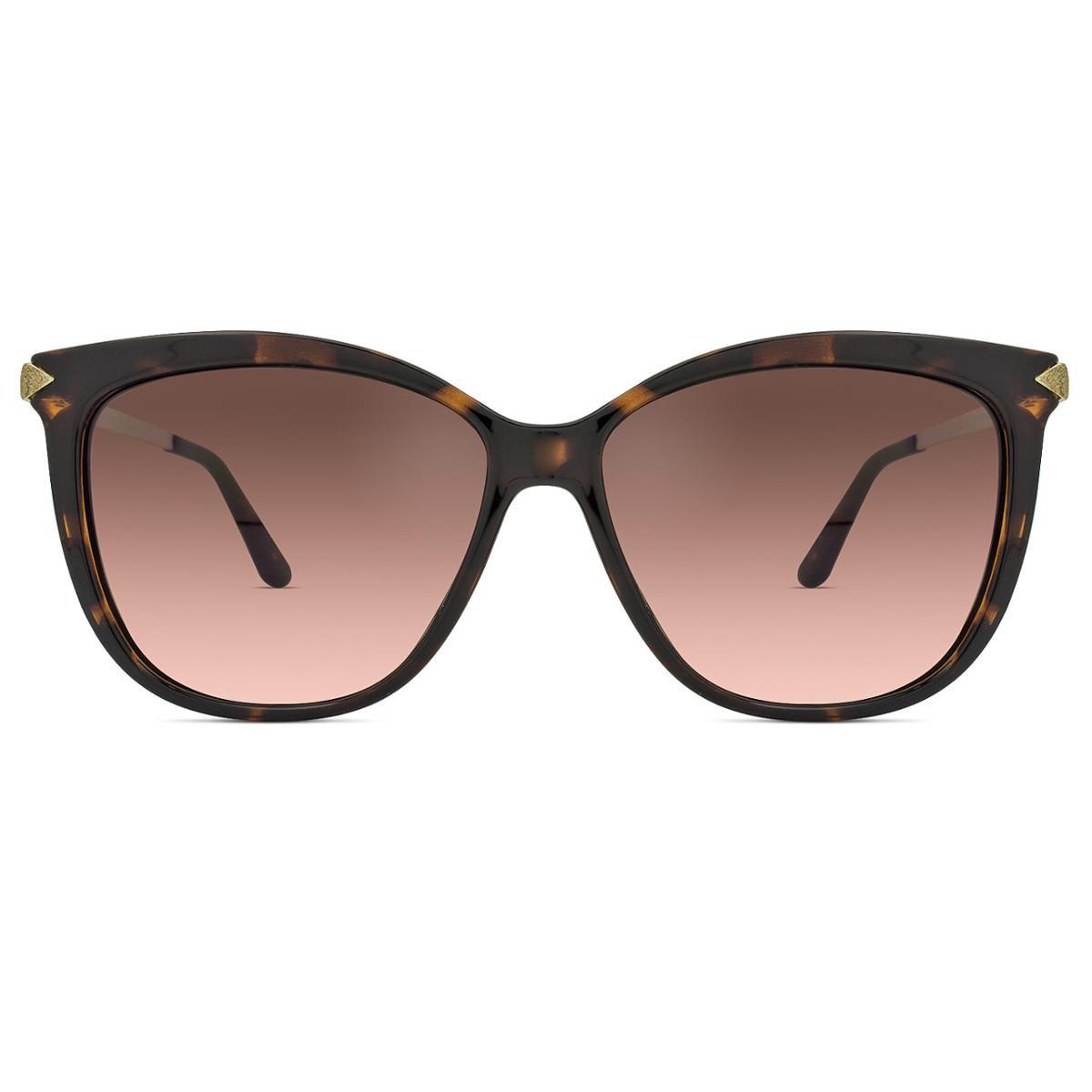 126e6e218805e Óculos de Sol Guess Feminino - Marrom - Compre Agora